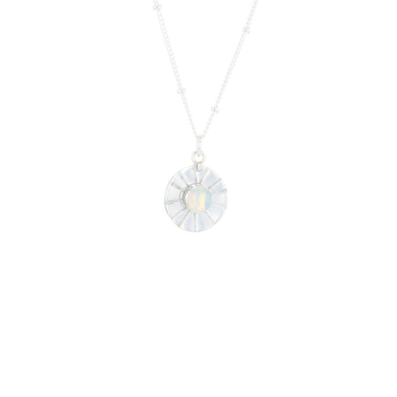 Lotus Jewelry Studio Silver Sunrise Necklace