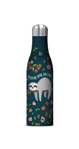 Studio Oh! - SLOTH Follow Your Dreams - 17 oz. Insulated Stainless-Steel Water Bottle