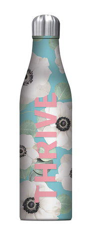 Studio Oh! - Floral Expressions THRIVE - 25 oz. Insulated Stainless-Steel Water Bottle