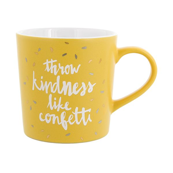 Bitchin' Kitchen - Throw Kindness Like Confetti Mug