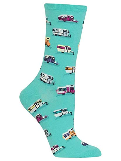 Hot Sox Women's Campers Crew Socks