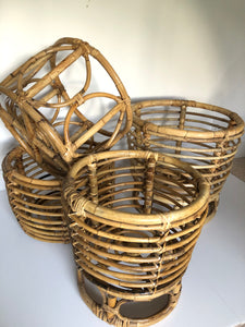 Rattan Planters/Side Tables/Storage - Various Sizes
