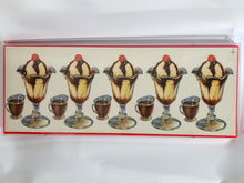 Load image into Gallery viewer, Original 1950's American Diner Art. Ice cream with Cherries on Top.