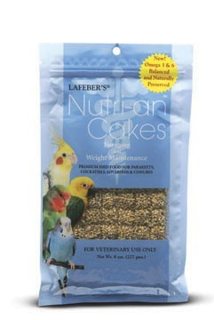 Lafeber's Nutri-An Cakes Foraging and Weight Maintenance-Small Birds