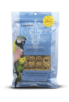 Lafeber's Nutri-An Cakes Foraging and Weight Maintenance-Large Birds