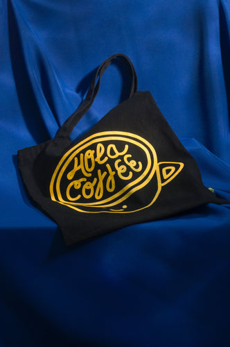 Tote bag Hola Coffee / Cool Beans