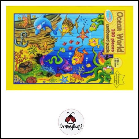 Ocean World 100 piece Puzzle