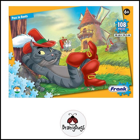 Puss in Boots 108 piece Puzzle