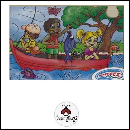 Fishing Dream 12 Piece Puzzle