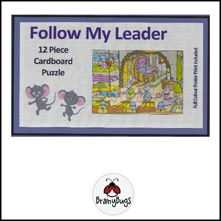 Follow my Leader 12 piece puzzle