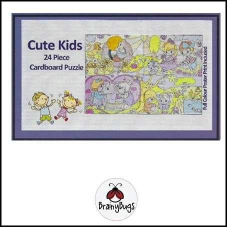 Cute Kids 24 piece Puzzle