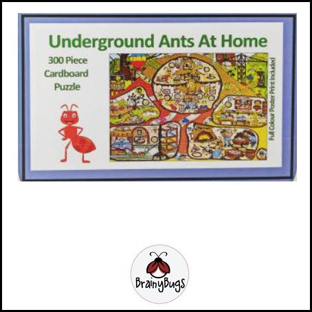 Underground Ants at Home 300 piece Puzzle