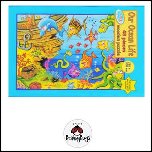 Our Ocean Life 48 piece Puzzle