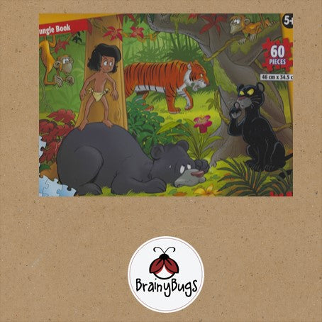 The Jungle Book 60 piece Puzzle