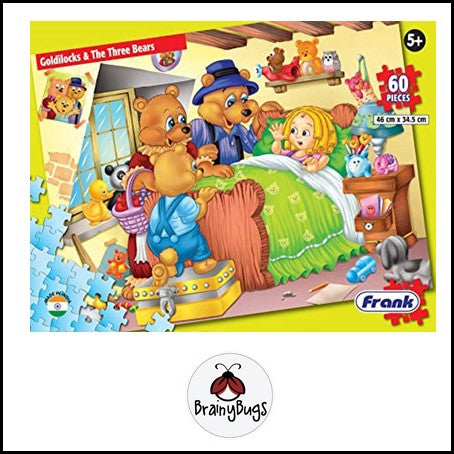 Goldilocks and the Three Bears 60 piece Puzzle