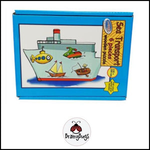 Sea Transport 6 piece puzzle