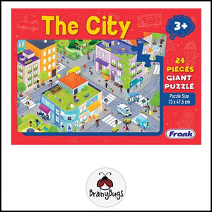 The City 24 piece Giant Puzzle