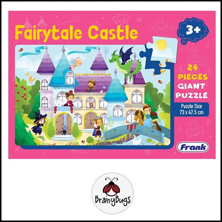 Fairy Tale Castle 24piece Giant Puzzle