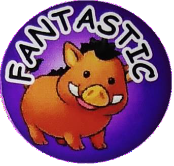 """Fantastic"" Stickers"