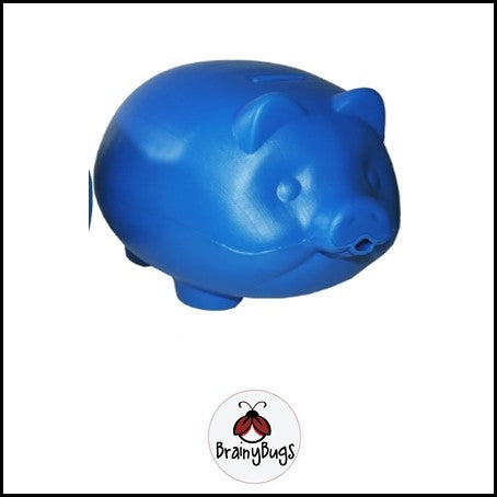 Jumbo Piggy Bank - Blue
