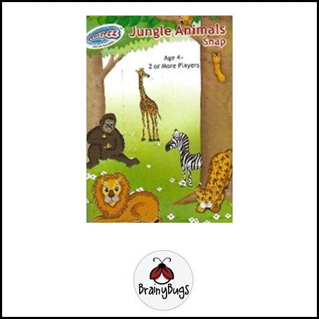 Jungle Animals Snap Cards