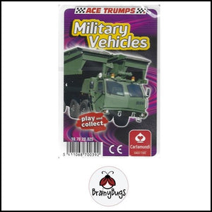 Ace Trump Cards - Military Vehicles