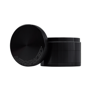 Black Aerospaced 4 Piece Grinder