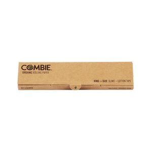 COMBINE's King Size Slim Rolling Papers + Tips