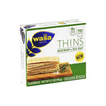 Wasa Thins (Rosemary & Sea Salt)