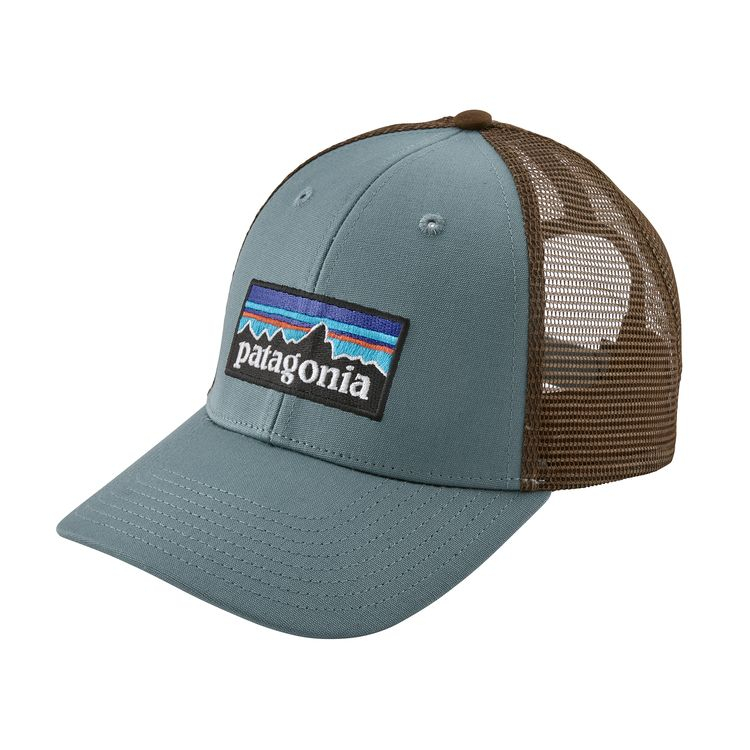 Patagonia P-6 Logo LoPro Trucker Hat (Shadow Blue)