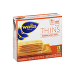 Wasa Thins (Sesame & Sea Salt)