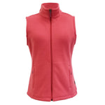 White Sierra Mountain Vest (Holly Berry)