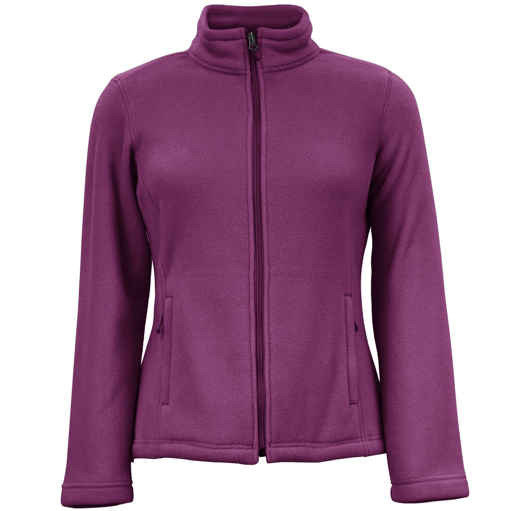 White Sierra Mountain Jacket (Dark Purple)