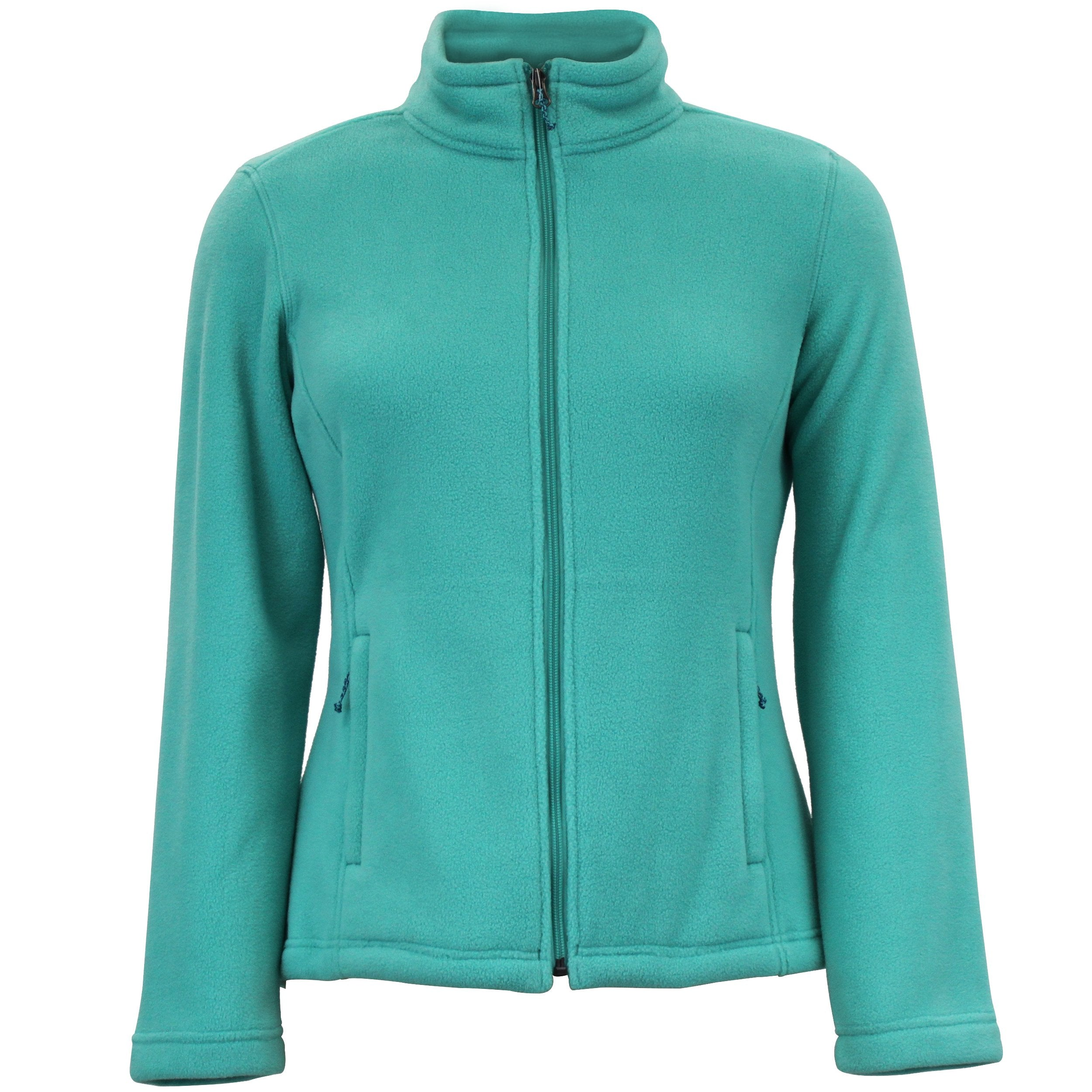 White Sierra Mountain Jacket (Light Turquoise)