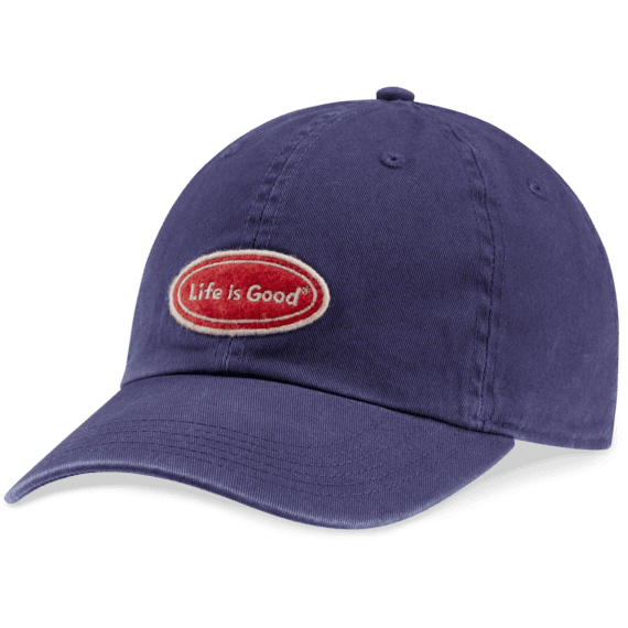 Life is Good Chill Cap Oval (Darkest Blue)
