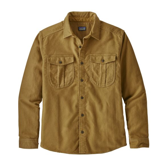 Patagonia Topo Canyon Moleskin Shirt (Kastanos Brown)