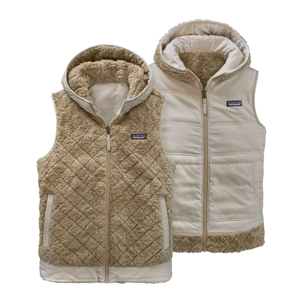 Patagonia Los Gatos Reversible Hooded Vest (Khaki)