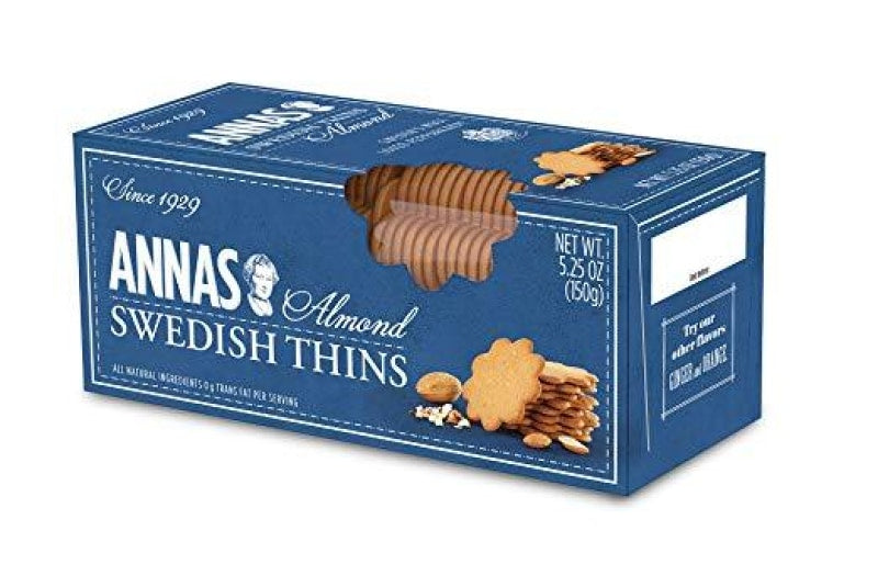 Annas Swedish Thins (Almond)