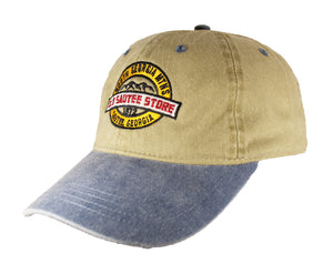Old Sautee Store Hat (Khaki/Denim)