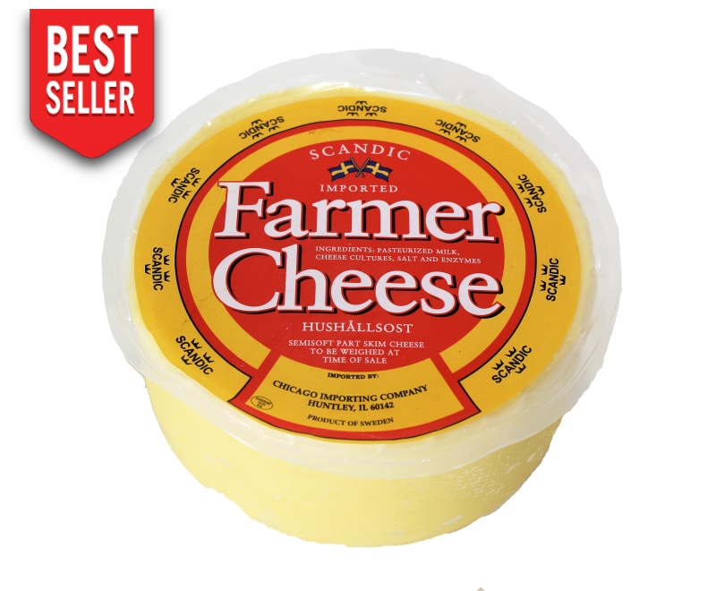 Swedish Farmer Cheese Wheel