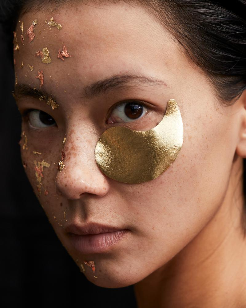 24k Gold Foil Eye Mask