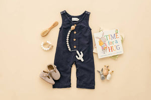 Linen Baby Romper - Multiple Color Options