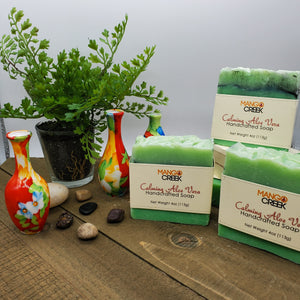 Calming Aloe Vera-Natural Soap-Mango Creek
