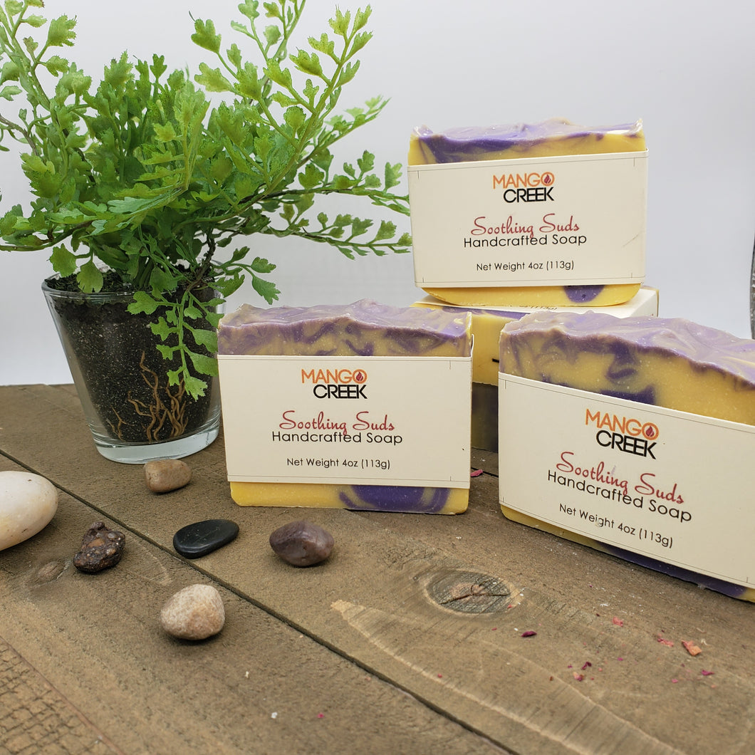 Soothing Suds-Natural Soap-Mango Creek