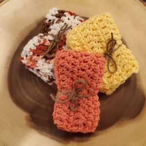 Cotton Washcloths - Mango Creek