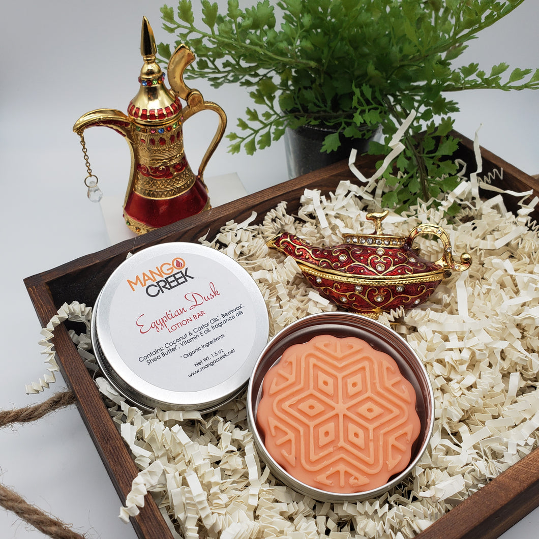 Egyptian Musk Lotion Bar-Lotion Bar Tins-Mango Creek