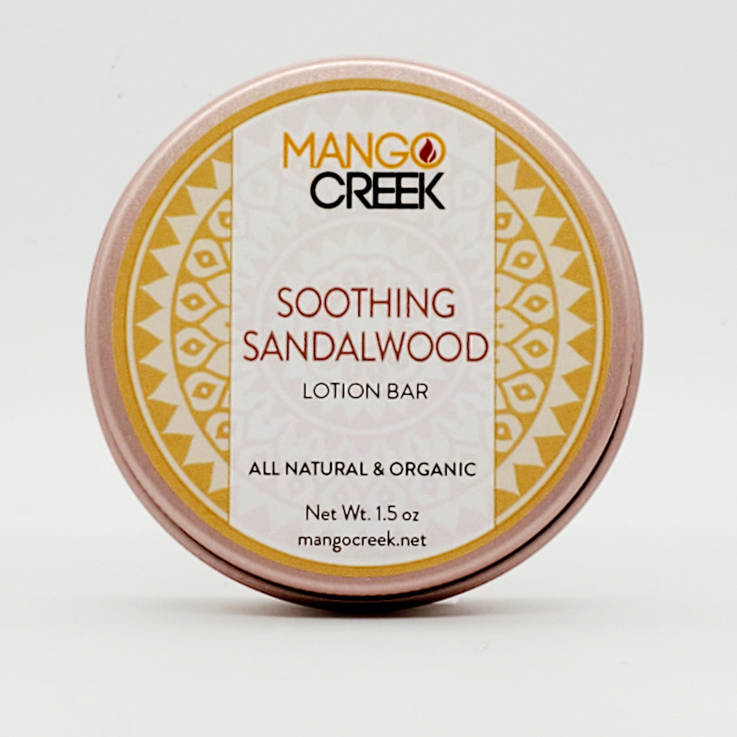 Soothing Sandalwood Lotion Bar