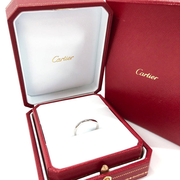 CARTIER Ring FAW024 Pt950Platinum 12.5 Silver Women Used