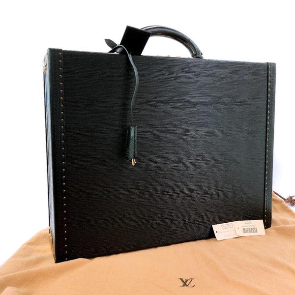 LOUIS VUITTON Business bag M54212 President Epi Leather black 1032950 mens Used
