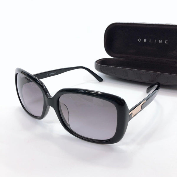 CELINE sunglasses SC1692G acetate black Women Used
